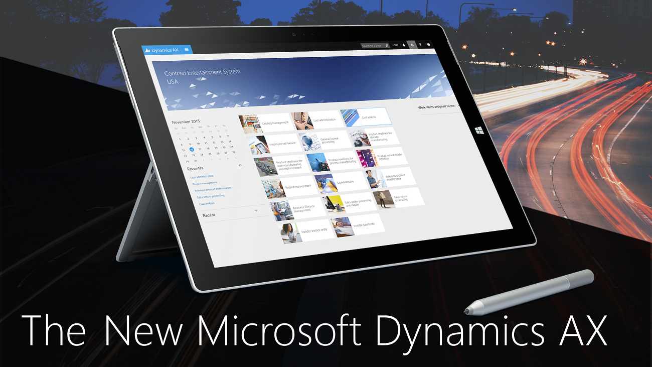 Enable your organization to grow, adapt, and evolve to meet the needs of your customers with Dynamics AX