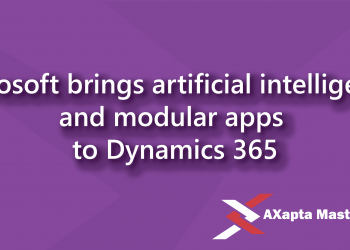 microsoft brings artificial intelligence and modular apps to dynamics 365
