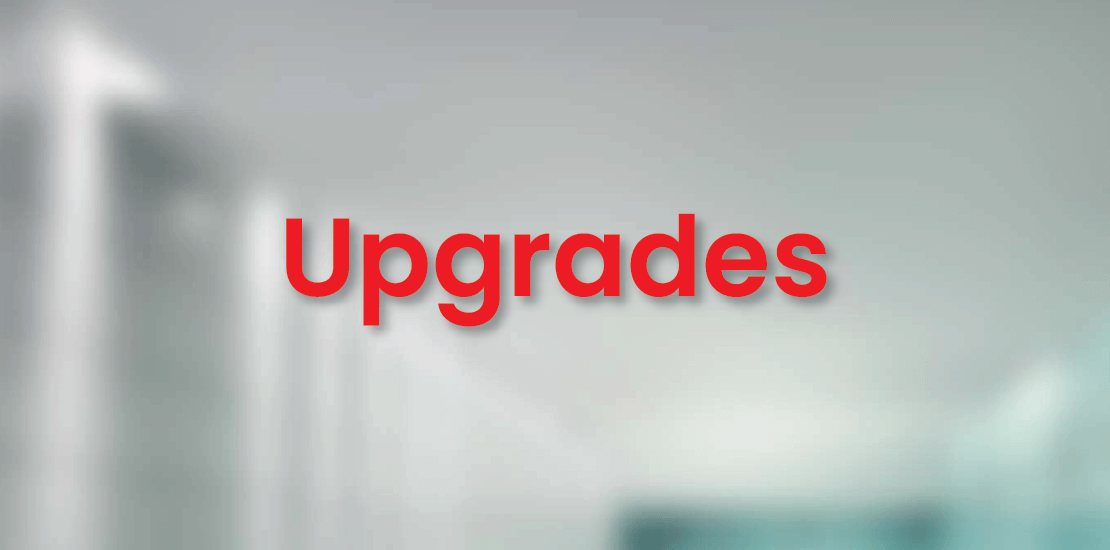 upgrades services