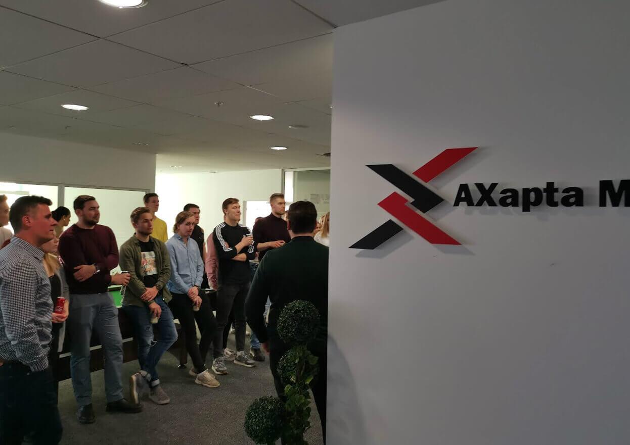 Axapta Masters Company's Presentation